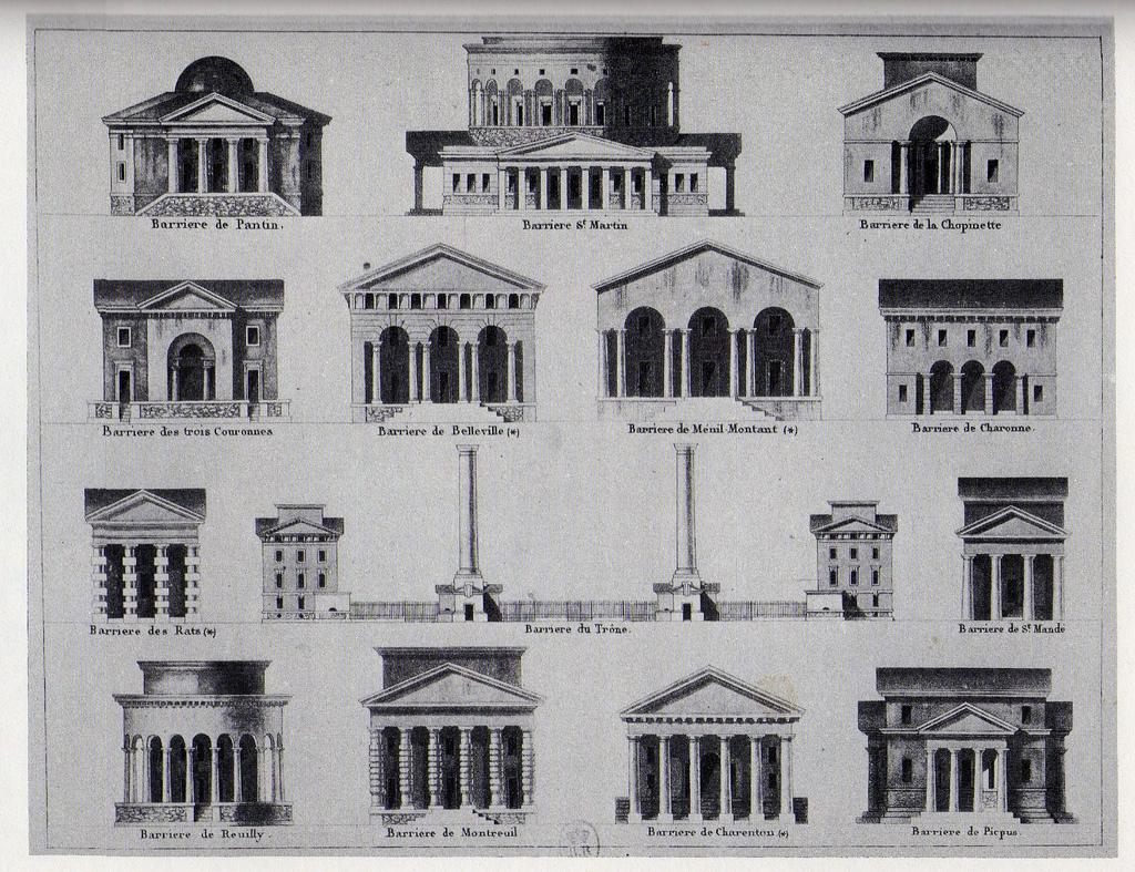 Les Enceintes Après 1790 Atlas Historique De Paris